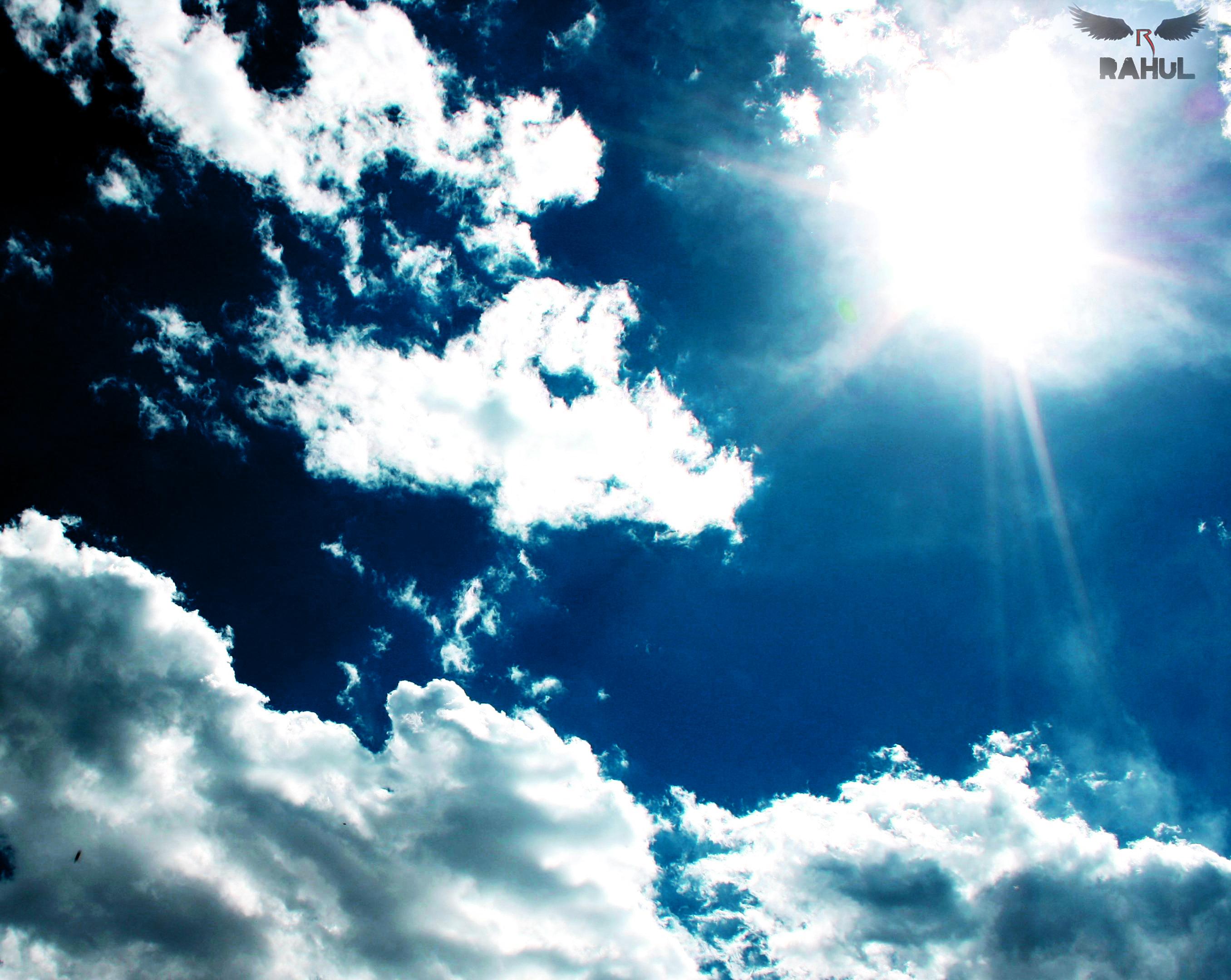 Beauty Of BLUE sky.. by rahulsilverfang on DeviantArt