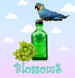 Blossoms Grape Wine..
