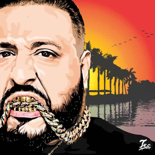 DJ Khaled By Tecnificent On DeviantArt