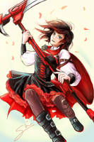 Ruby Rose by sarahlrn