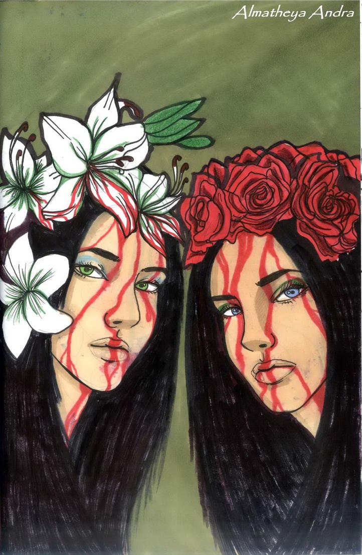 My twin by Almatheya-Andra