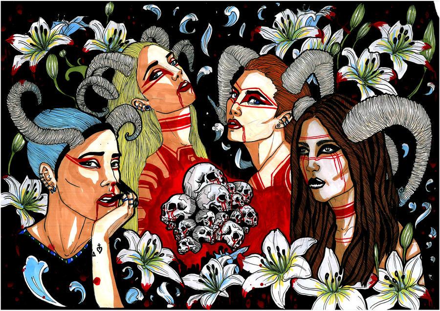 Lilium by Almatheya-Andra