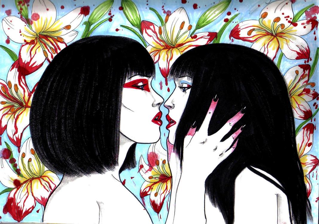 Alma and  Teya by Almatheya-Andra