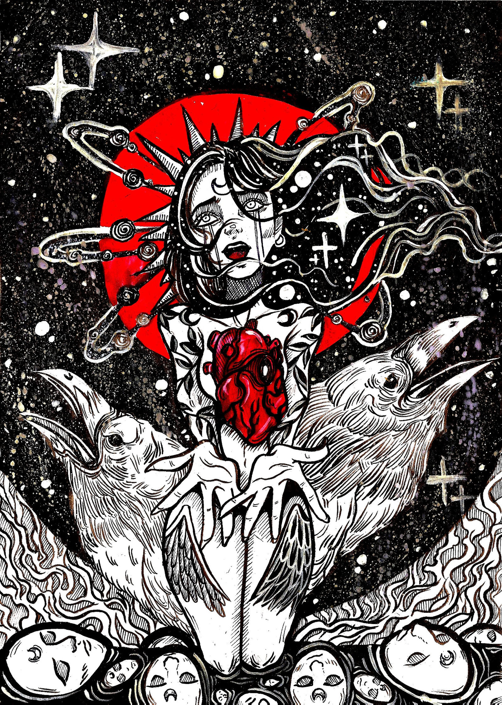 Broken heart by Almatheya-Andra