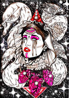 Saint of broken hearts by Almatheya-Andra