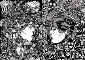 Deep inside-demons and wings