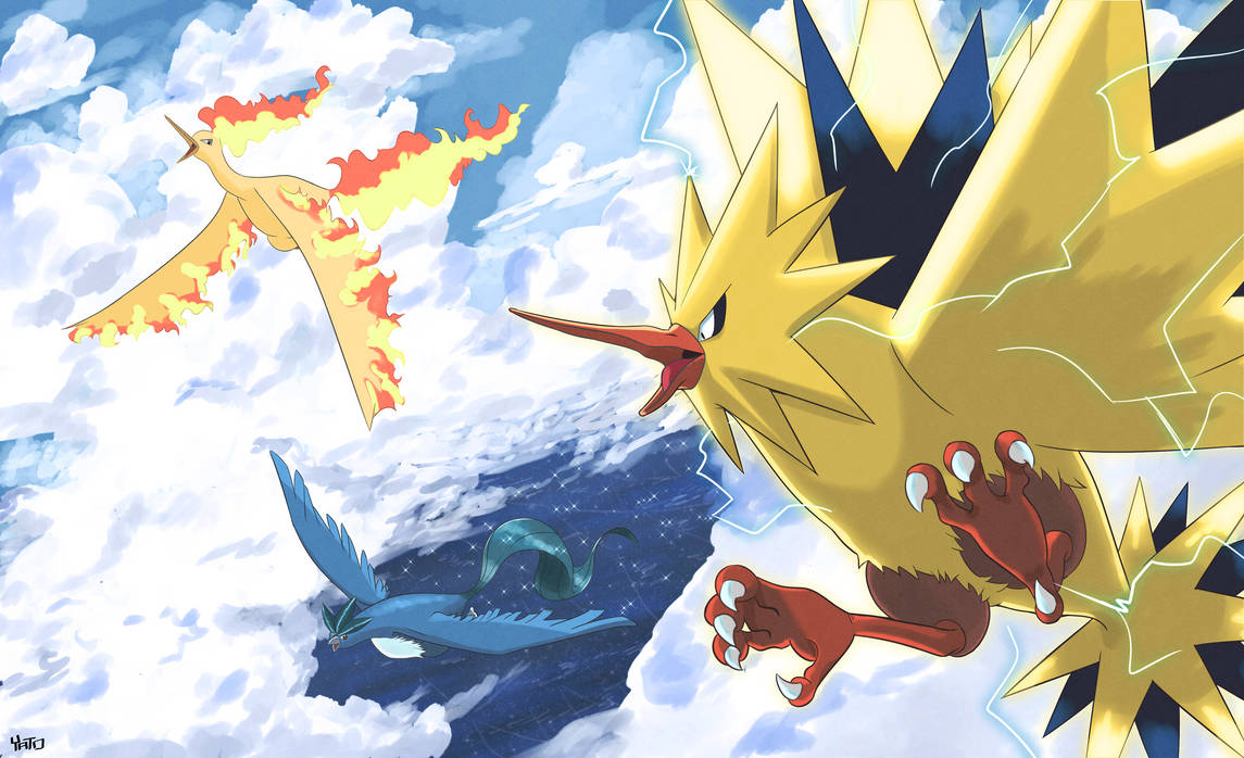 Pokemon Series: Legends and Myths-Legendary Birds