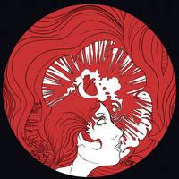 Melissa auf Der Maur disk art by HebrewGod