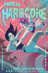 This is Hardcore issue 3 Cover by HebrewGod