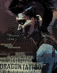 Girl with the Dragon Tattoo poster by HebrewGod