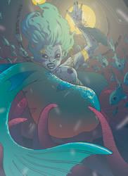 Mermaid by HebrewGod