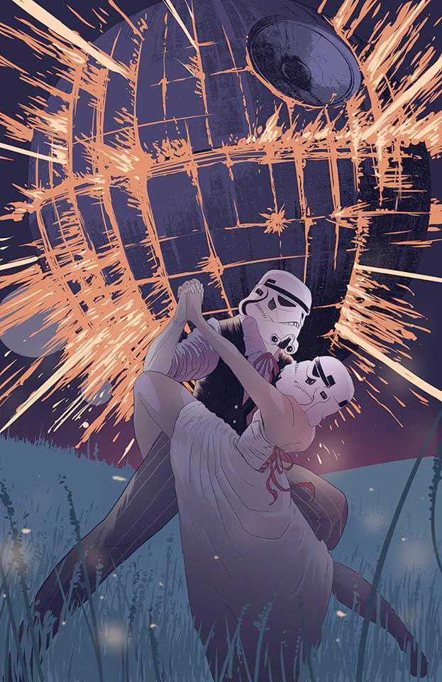 Stormtroopers In Love