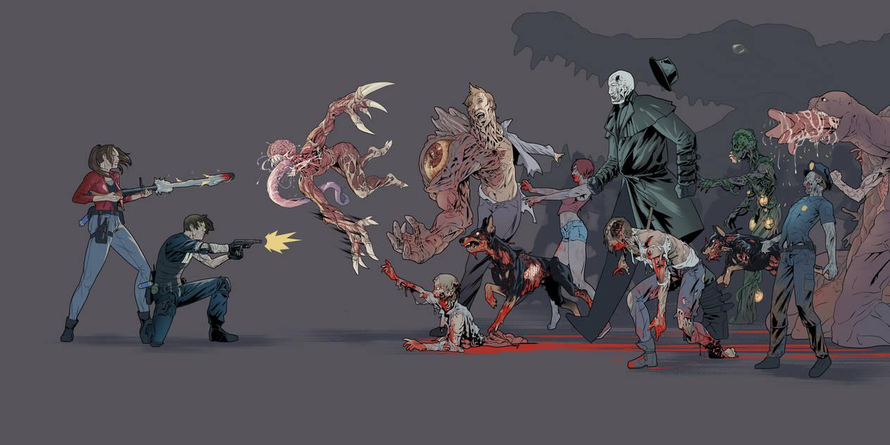 Resident Evil 2 by HebrewGod