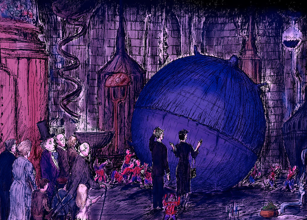The Inventing Room COLOUR by Jimmy-C-Lombardo on DeviantArt