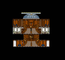 Aft Grand Staircase Cutaway by Jimmy-C-Lombardo
