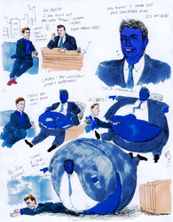 Jimmy Fallon Inflates and Flattens Justin T. by Jimmy-C-Lombardo
