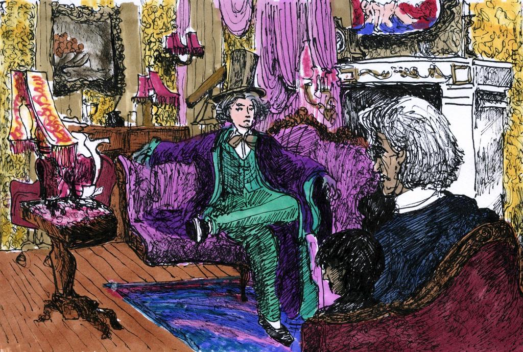 Wonka's Study by Jimmy-C-Lombardo