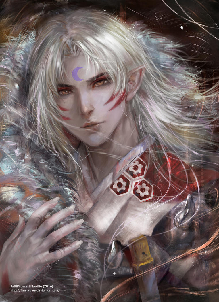 Commission: Sesshomaru by Innervalue