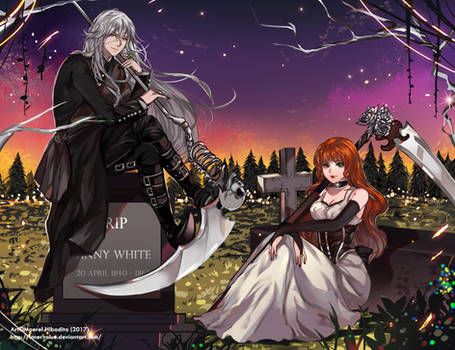 Commission: Undertaker and Anny