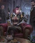 Mobius Final Fantasy: Romantic Goth Sophie
