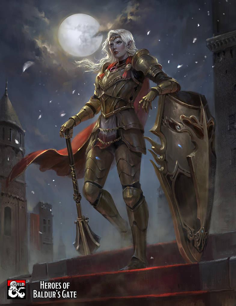 Baldur's Gate: Viconia