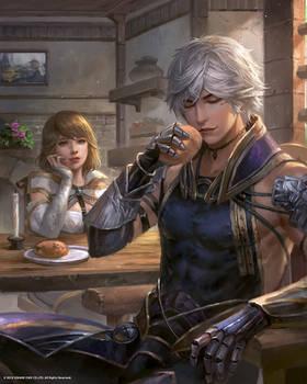Mobius Final Fantasy: Calm daily life