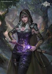 Fantasy North: Valindra Elmourne, Dark Elf