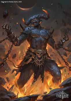 Fantasy North: Demon Lord Agamon