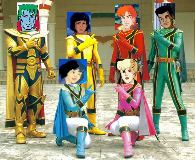 Mystic Force-Captain Planet by JNTA1234 on DeviantArt
