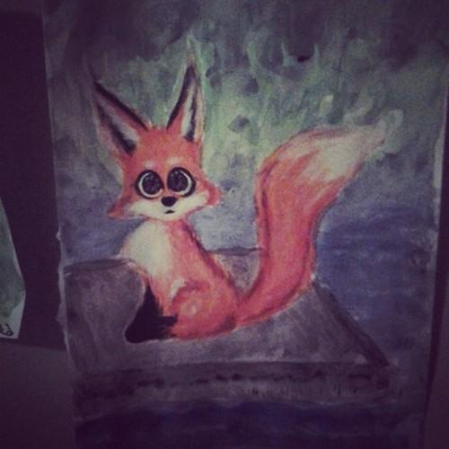 A Fox by 17cherry