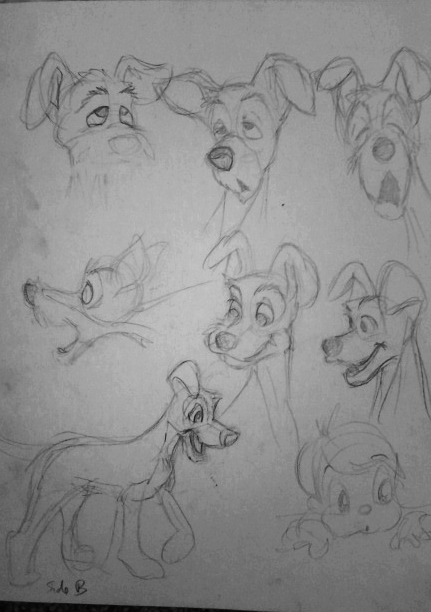 Tramp sketches by 17cherry