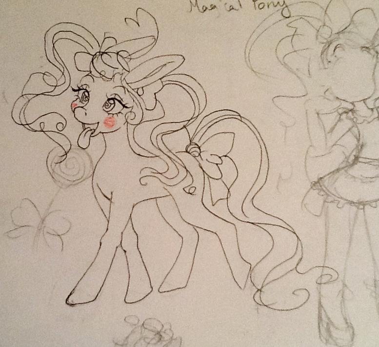 my Pony OC by 17cherry