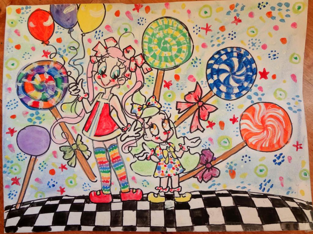 Re-upload Lollipops by 17cherry