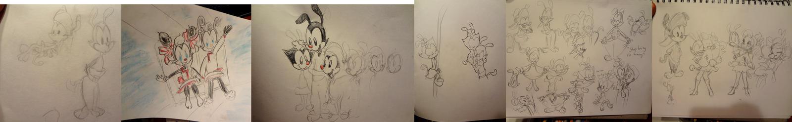 TOday I drew some Warners by 17cherry