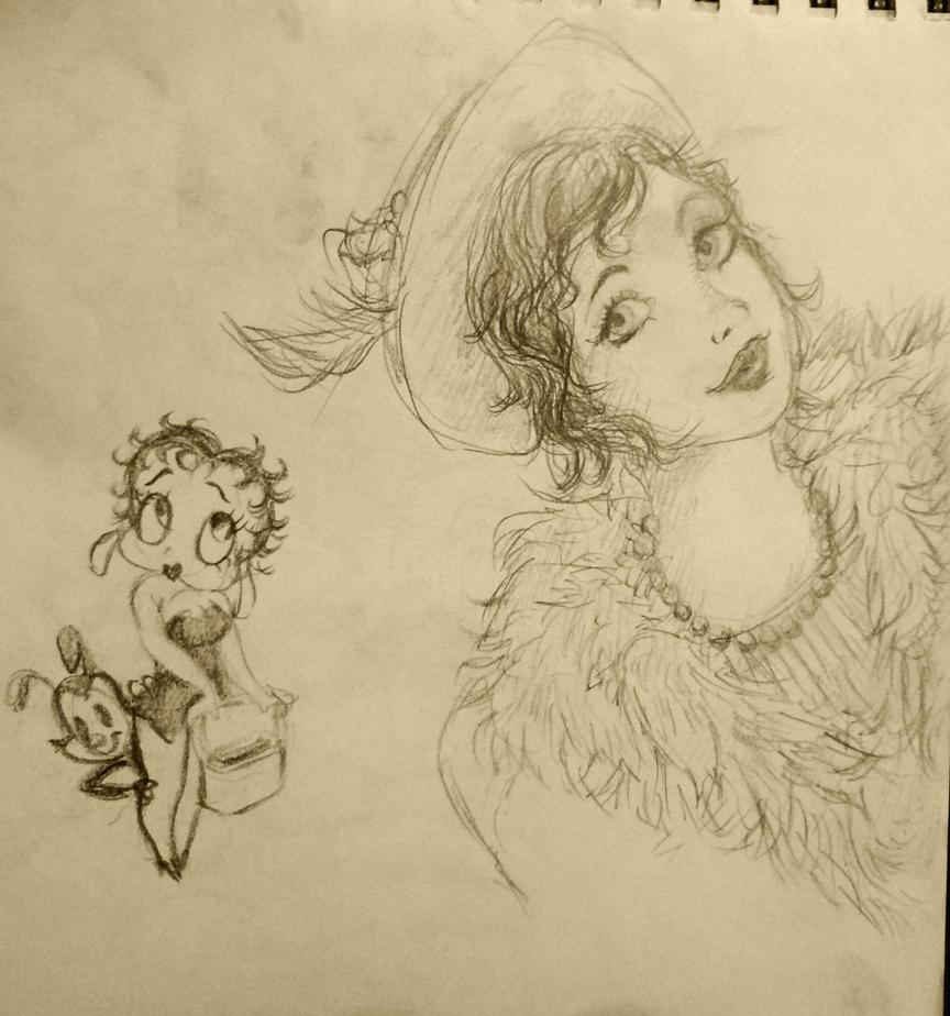 Flapper Girl by 17cherry