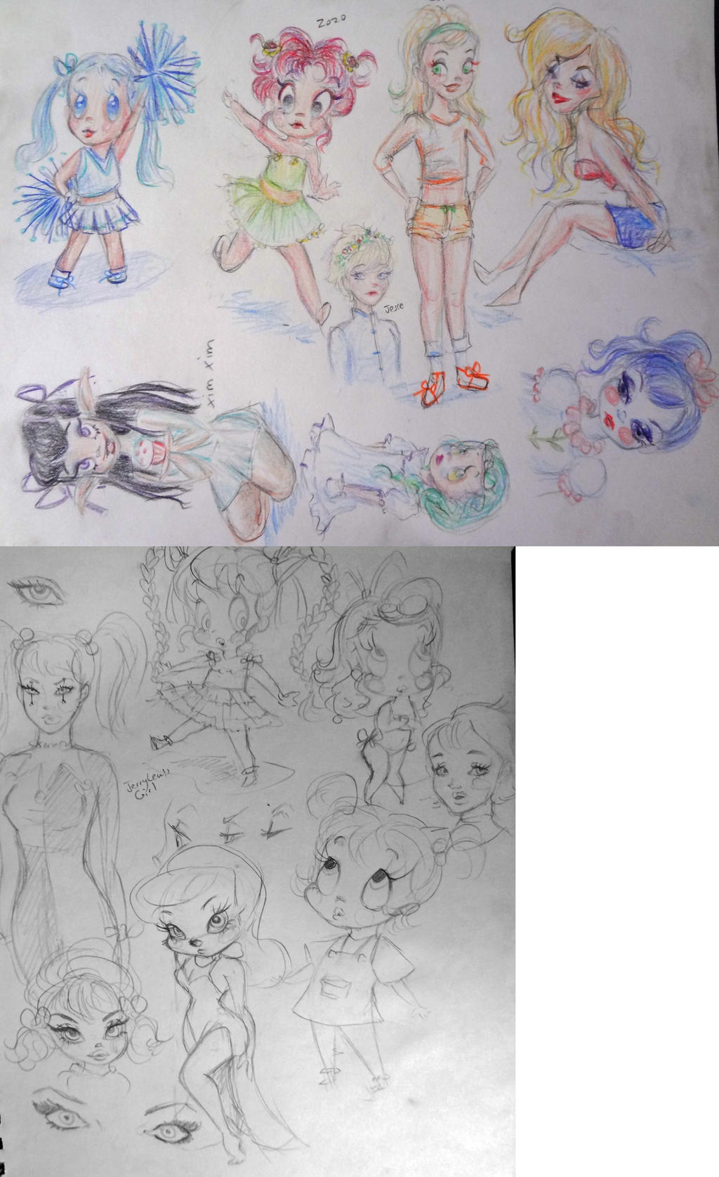 Sketches by 17cherry