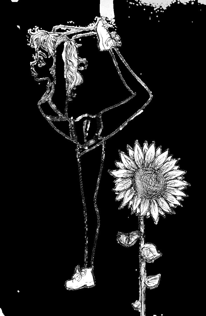 Sunflower by 17cherry