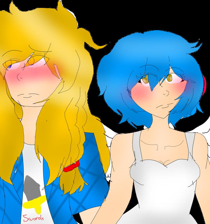 Phyrnna and Matt by sweetsweetmina