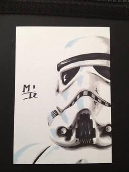 Stormtrooper sketchcard