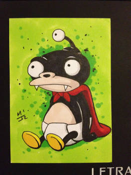 Nibbler sketch card