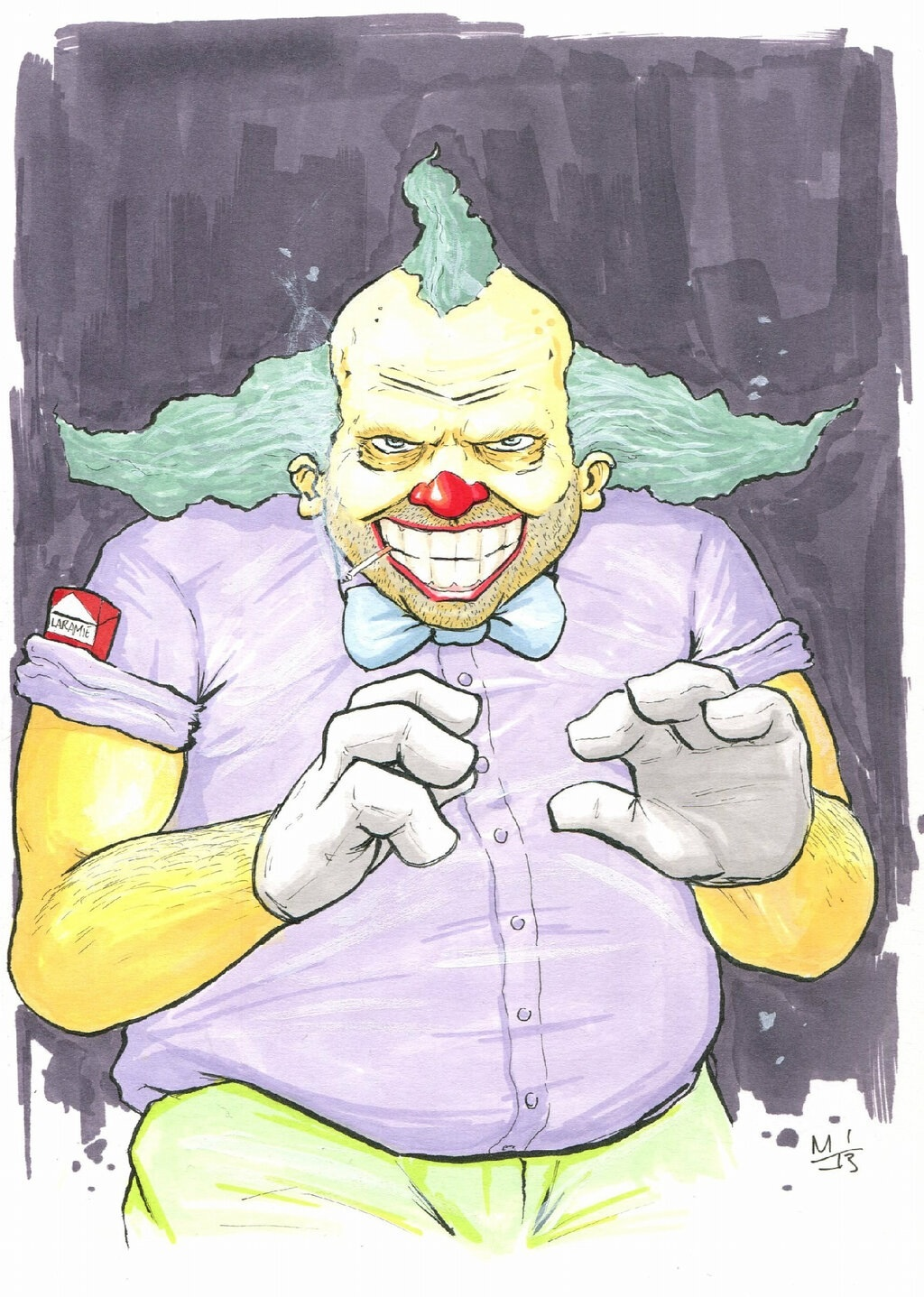 Krusty The Clown by MikimusPrime