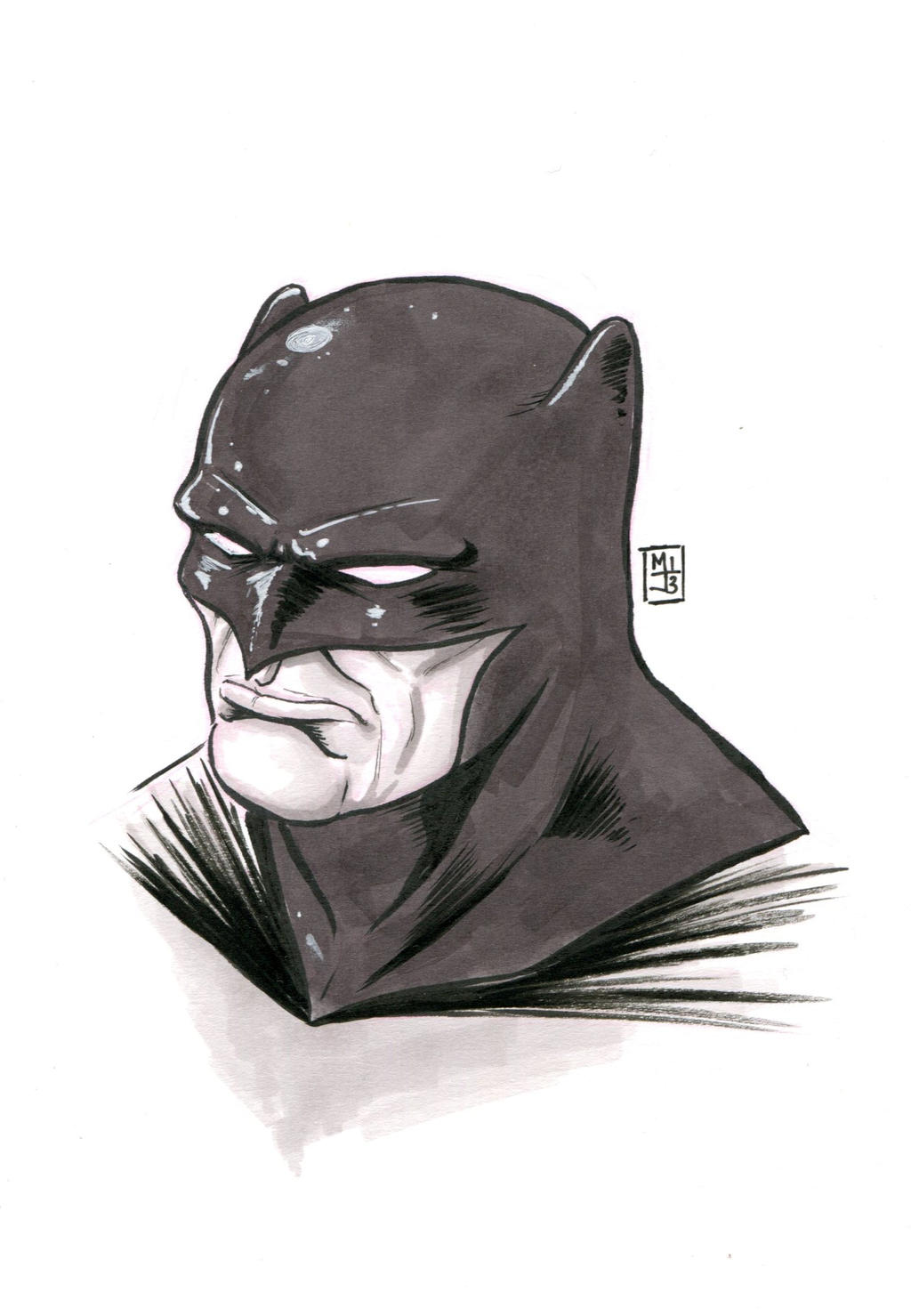Batman by MikimusPrime