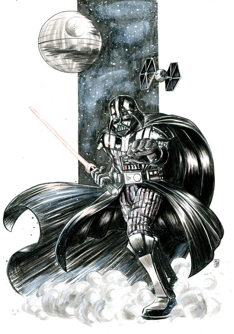 Darth Vader by MikimusPrime