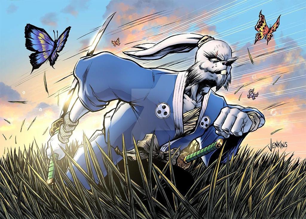 Usagi Yojimbo by MikimusPrime
