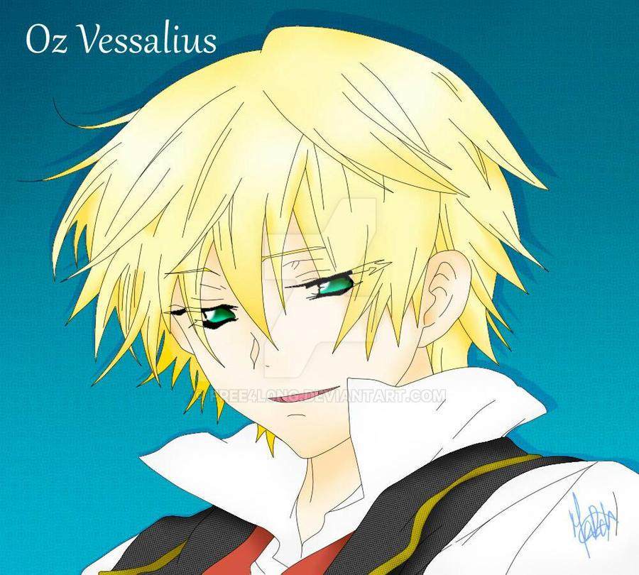 Oz Vessalius by free4l0ng
