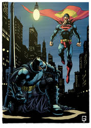 Batman-vs-Superman by rofdsmxc