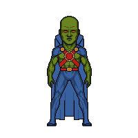 My DCU: Martian Manhunter (J'onn J'onzz)