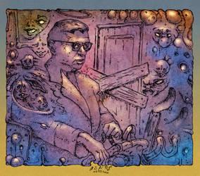 Sartre by leothefox