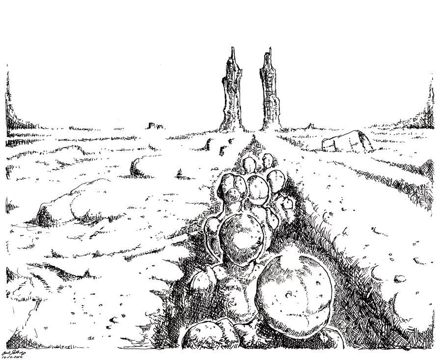 Gap Pilgrims by leothefox