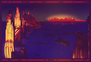 Bridge City by leothefox
